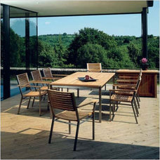 Contemporary Patio Furniture And Outdoor Furniture by Curran