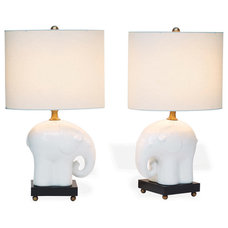 Contemporary Table Lamps by Kathy Kuo Home