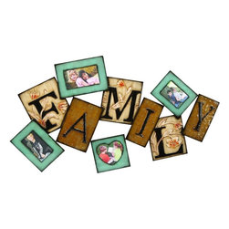 Benzara - Metal Wall Photo Frame To Keep Memories Live - Wall decor with great utility. Support your existing wall decor with 63547 Metal WALL PHOTO FRAME. It is an excellent anytime low priced wall decor upgrade option with great utility for everyone. Just have a look over, you will fall in instant love with its beauty.