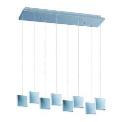 Joshua Marshal - Brick 8-Light LED Pendant - Brick 8-Light LED Pendant