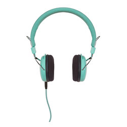Crosley - Amplitone Headphones Turquoise - Dimensions:  6.5 x 3 x 7 inches