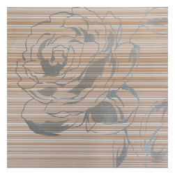 Blancho Bedding - Herbaceous Peony-2 - Self-Adhesive Wallpaper Home Decor Roll - Wallpaper can transform a room quickly and easily. You can wallpaper all walls, the ceiling or create a large over scaled piece of artwork by framing it. It would be perfect for nearly any room in the house: your living room, bedroom, bathroom, etc. The wallpaper are made of a high quality, waterproof, and durable vinyl and will stick to any smooth surface. It can be washed with gentle pressure and a soft damp cloth Strippable. You can add your own unique style in minutes! This wallpaper is a perfect gift for friend or family who enjoy decorating their homes.
