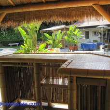 Tropical Patio by Bamboocreasian