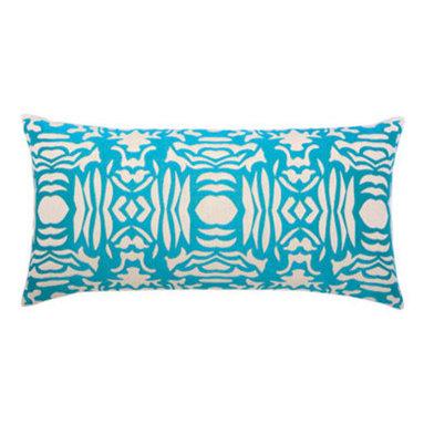 """New Elaine Smith Pillows - Kaleidoscope Aruba Block - 12"""" x 24"""" Elaine Smith Pillows"""