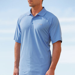 Frontgate - Columbia Men's Freeze Zero Polo - Sweat-activated Omni-Freeze® ZERO technology accelerates the wicking process to help keep you cool. Omni-Wick EVAP technology allows rapid evaporation to help keep you dry. Omni-Shade® UPF 50 provides maximum protection for long hours in the sun. 93% polyester/7% elastane for comfortable stretch. Classic fit is great for the active lifestyle or for everyday use. In conditions that might range from the sun-drenched beach to a serious game of golf, the Freeze Zero Polo from Columbia helps you stay cool. Light against your skin yet packed with technical performance, this innovative polo protects you from the sun while dispersing heat with hidden vents and lowering your body temperature with Omni-Freeze ZERO technology. Add in UPF 50 sun protection to repel UV rays and throw in a comfort stretch fabric and you've got the perfect recipe for beating the heat. Sweat-activated Omni-Freeze ZERO technology accelerates the wicking process to help keep you cool .  . Omni-Shade UPF 50 provides maximum protection for long hours in the sun .  .  . Care: Use a phosphate-free mild detergent, do not use bleach; tumble dry low or hang dry, do not dry clean unless specified on the care tag . Button placket . Imported.