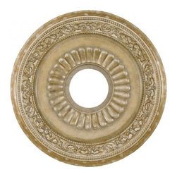 Minka-Aire - Minka-Aire 22in Ceiling Medallion - This Ceiling Medallion has a Fortepierre Finish.