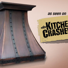 Traditional Range Hoods And Vents by Copper Kitchen Specialists