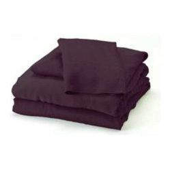 Bamboo Cal King Sheet Set, Plum
