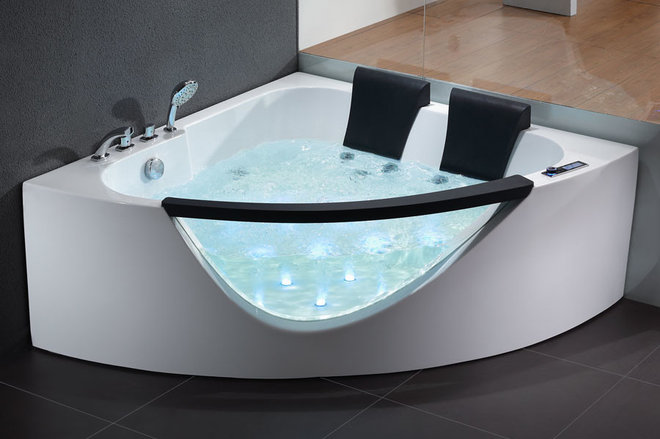 Dreaming of a spa tub at home read this pro advice first for Bathtub in bathroom