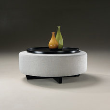 Contemporary Ottomans And Cubes by Thayer Coggin