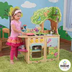 KidKraft Fairy Woodland Kitchen - This is seriously the cutest toy kitchen I have ever seen! As a mother of two boys, I can assure you that a toy kitchen is not just a girl's toy — boys love playing with them too.