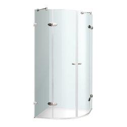 """VIGO Industries - VIGO 40 x 40 Frameless Neo-Round 1/4"""" Shower Enclosure - VIGO designs easy-to-install shower enclosures to enhance any bathroom and suit your needs."""