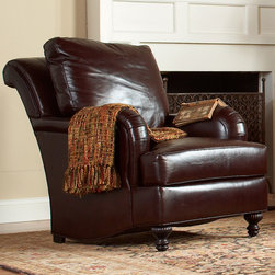 Stickley Greenville Chair (Leather) CL-8737-CH -