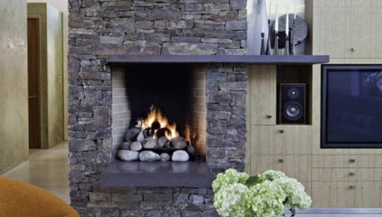 Pinterest / Search results for stone fireplace