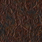 Teladon - Teladon blends hues of plum and orange with metallics on a black base to provide depth and dimension.