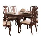 American Drew - American Drew Cherry Grove Oval Leg Dining Table in Antique Cherry - Description