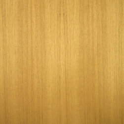 Quartered Teak Veneer - Quarter cut Teak veneer can be a light golden color to a medium brown color. Teak is a naturally oily wood and takes wipe on oil finishes best. Available on variety of backers and sizes.
