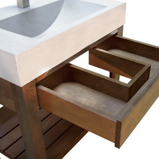 Bathroom Sinks by Trueform Concrete
