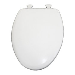 Bemis Toilet Seats - Bemis B583SLOW000 NextStep Round Closed Front Toilet Seat in White - B583SLOW000 - Shop for Toilet Training from Hayneedle.com! About BemisRenowned for its high-quality bathroom fixtures and design the family-owned Bemis company stands for durability and innovation. The organization serves markets worldwide while remaining well known for serving residential consumers as well as commercial medical and industrial markets. All under the respected name of Bemis these products made to serve a number of markets and industries are all well designed and can found all around the world.