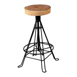 Duncan Bar Stool - Product Features:
