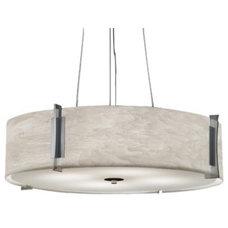 Pendant Lighting Genesis 11206 Drum Pendant by Ultralights