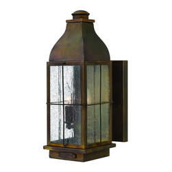 Hinkley - Hinkley Bingham Two Light Sienna Wall Lantern - 2044SN - This Two Light Wall Lantern is part of the Bingham Collection and has a Sienna Finish. It is Outdoor Capable, and Wet Rated.