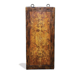 Koenig Collection - Old World Mediterranean Wall Art Panels, Rustic Brown Torched - Old World Mediterranean Wall Art Panels