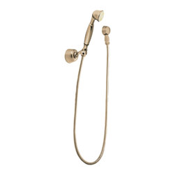 Moen - Moen 3861AZ Moen Handheld Shower - From finishes that are guaranteed to last a lifetime, to faucets that balance your water pressure perfectly, the Moen series sets the standard for exceptional beauty and reliable, innovative design.