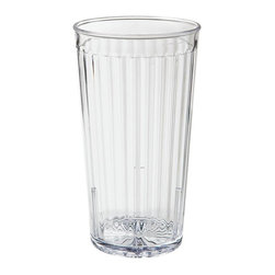Get Melamine - Spektrum 22 oz Tumbler Clear Polycarbonate/Case of 72 - Descriptions: 22 oz. /22.65 oz. Rim Full/ 3.5 inch Tumbler 6.25 inch Tall