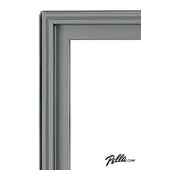 EnduraClad® Exterior Finish in Eldridge Gray - Available on Pella Architect Series® and Designer Series® wood windows and patio doors, EnduraClad exterior finishes offer 27 standard and virtually unlimited custom color options.