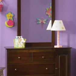 Atlantic Furniture - Windsor 3 Drawer Dresser & Mirror Set in Anti - Includes 3 drawer dresser with 2 cabinets and rectangular bevel glass portrait mirror. Metal drawer glides. English dovetail joinery on all drawers. Eco-friendly solid hardwood construction with durable high build finishes and is certified non-toxic. Dresser: 46.62 in. W x 19 in. D x 31.5 in. H. Portrait mirror: 29.88 in. L x 2 in. W x 41.88 in. H