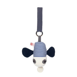OOTS! - Peter Fly Mini Music Box - This is one fly you'll love! Liven up your baby's ride with this adorable plush mini music box. The bold red and white design and whimsical tune is sure to provide endless hours of entertainment for your little one.