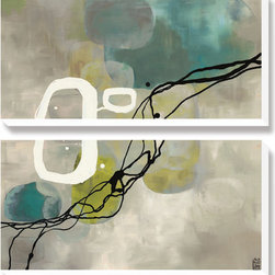 Artcom - Pearl Retro by Laurie Maitland - Pearl Retro by Laurie Maitland is a Canvas Art Set.