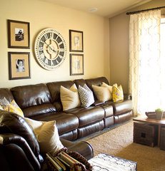 eclectic family room by ReStyle Group