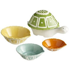 Eclectic Measuring Cups by Pier 1 Imports