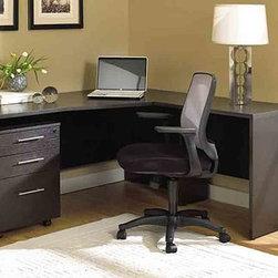 100 Series Desk and Mobile Pedestal Office Set -