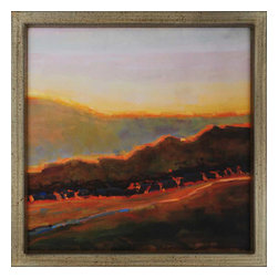 Paragon - Western Sunset - Framed Art - Each product is custom made upon order so there might be small variations from the picture displayed. No two pieces are exactly alike.