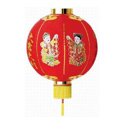 Oriental-Décor - Chinese Party Lantern - Paper lanterns are a super chic way to bring instant decor and color to your home or patio. Just grab scissors, yarn and a chair and hang these from your ceiling or outside in your trees.