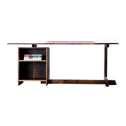 Taylor Donsker Design - The Tilted Desk - Solid Black Walnut