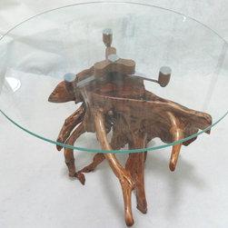 Unique handmade original design Natural Driftwood Tables - Designers: JianboZhang