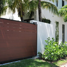 Modern Home Fencing And Gates by Formative Linear Systems