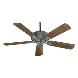 "Quorum - Toasted Sienna And Walnut Blades 52"" Energy Star Ceiling Fan - Width: 52"""