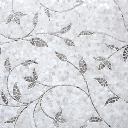 Kela of Artsaics's Glitz collection - Kela of the Glitz collection is a collaboration of hand cut mirror pieces and natural stone that, together, create an organic beauty unknown to the world of stone.
