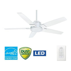 "Casablanca - Casablanca 59110 Zudio 56"" 5 Blade Energy Star Ceiling Fan - LED Light Kit, Blad - Included Components:"