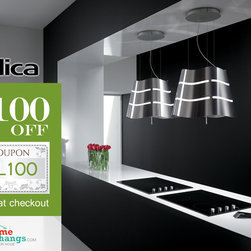 Luxury Kitchen Range Hoods by Elica at HomeThangs.com - Get it now at: http://goo.gl/Fi9gcn