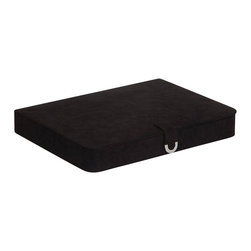 Mele Jewelry - Mele and Co. Cameron Jewelry Box and Ring Case in Black - Mele Jewelry - Jewelry Boxes - 0054762M