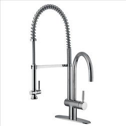 Vigo - VIGO VG02006CHK1 Pull-Down Spray Kitchen Faucet - This stylish and durable faucet is sure to give your kitchen sink a new look