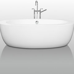 modern bathtubs by Overstock