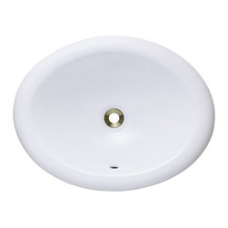 MR Direct - MR Direct O1917 Porcelain Vanity Bowl, White, *No Drain* - Our extensive line of porcelain sinks will compliment any dcor from the traditional to the unique. Our porcelain sinks are true Vitreous China  with a triple laid glaze to create the strongest sink you will find. Our porcelain sinks are extremely low maintenance. Our porcelain sinks are covered by a limited lifetime warranty. Each comes with a cardboard cutout template and mounting hardware.