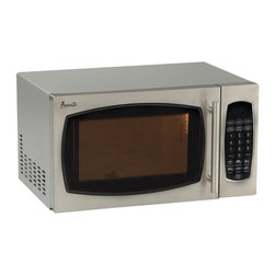 "Avanti - .9 Cubic-Foot 900W Microwave Stainless Steel - Avanti MO9003 Stainless SteelT 0.9 Cubic Foot Microwave Oven with Stainless Steel finish. 900 watts of cooking power, Electronic Control Panel, One Touch cooking progams, Speed Defrost, Cook/Defrost by weight, 99 minute timer, 19""W x 11""H x 15.75"" D, 31 lbs."